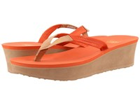 Ugg Ruby Fire Opal Women's Wedge Shoes Red