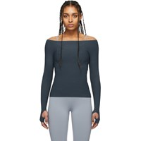 Live The Process Grey Seamless Sport Top