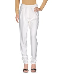 Hakaan Casual Pants White