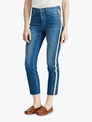 Ralph Lauren Regal Straight Ankle Jeans Eden Indigo Wash