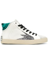 Crime London Faith Hi Sneakers White