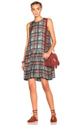 The Great Waltz Dress In Red Blue Checkered And Plaid Red Blue Checkered And Plaid