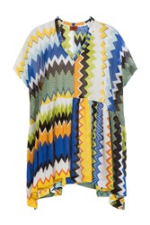 Missoni Mare Chevron Knit Tunic Multicolor