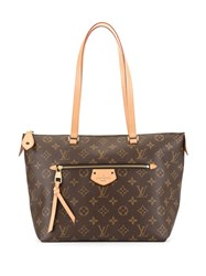 Louis Vuitton Vintage Iena Pm Tote Bag Brown