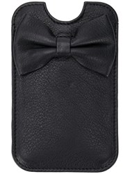 Red Valentino Bow Detail Iphone 5 Case Black