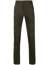 Dondup Gaubert Slim Fit Trousers Green