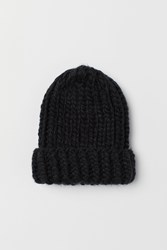 Handm H M Chunky Knit Hat Black