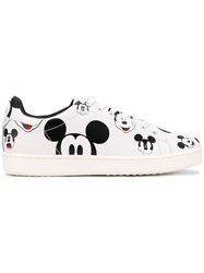 Moa Master Of Arts Mickey Sneakers Men Leather Foam Rubber 43 White