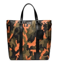 Michael Kors Jet Set Men's Camouflage Large Tote Poppy