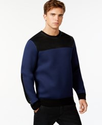 Guess Colorblock Crew Neck Sweatshirt