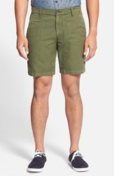 Ag Jeans Men's Ag 'The Wanderer' Linen And Cotton Slim Fit Shorts Sulfur Vine Canopy Sul Vcp