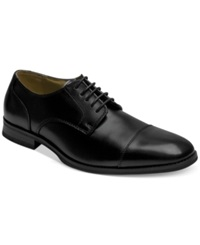 Bass Atlanta Cap Toe Oxfords Men's Shoes Black