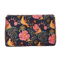 Jerome Dreyfuss Clic Clac L Clutch Bag With India Print Print India