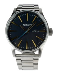 Nixon Timepieces Wrist Watches Men Silver