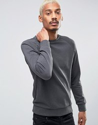 Esprit Sweat With Crew Neck And Raglan Sleeve Black 001