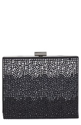 Natasha Couture Ombre Crystal Box Clutch
