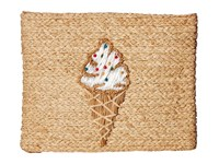 Hat Attack Whimsical Clutch Ice Cream Clutch Handbags Beige