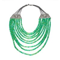 Gabriele Frantzen Cleopatra Necklace Green