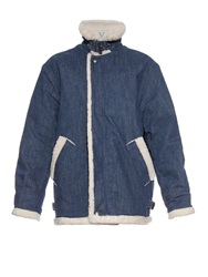 Rachel Comey Shearling Lined Denim Jacket