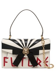 Gucci Future Bow Leather Top Handle Bag