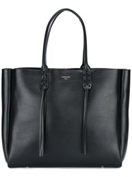 Lanvin Shopper Tote Bag Black