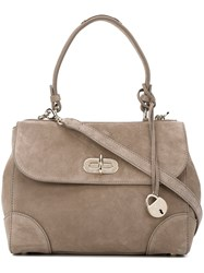 Ralph Lauren Front Flap Tote Bag Nude And Neutrals