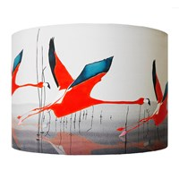 Anna Jacobs Orange Breaking Dawn Lamp Shade