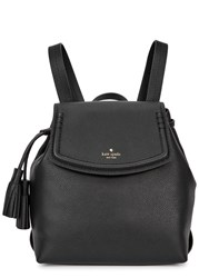 Kate Spade Orchard Street Selby Black Leather Backpack