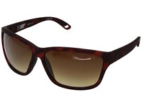 Spy Optic Allure Soft Matte Red Tort Happy Bronze Fade Fashion Sunglasses Brown