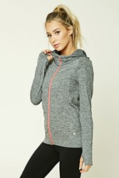Forever 21 Active Seamless Hooded Jacket