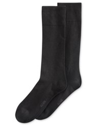 Alfani Spectrum Men's Socks Solid Crew Single Pack Black