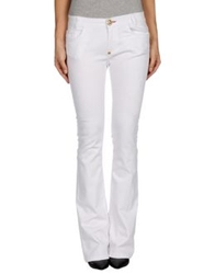 Philipp Plein Denim Pants White