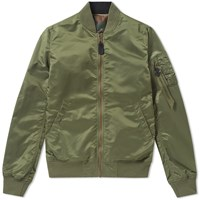 Alpha Industries Ma 1 Vf Lw Reversible Jacket Green