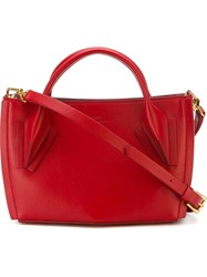 Desa 1972 Small Tote Bag Red