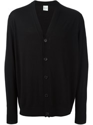 Paul Smith V Neck Cardigan Black