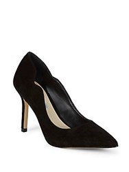 Saks Fifth Avenue Bolton Leather Stiletto Pumps Black