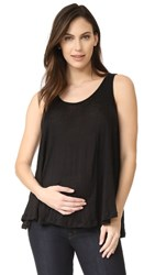 Hatch The Linen Swing Tank Black