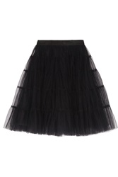 Alice Olivia Darcy Tiered Tulle Skirt