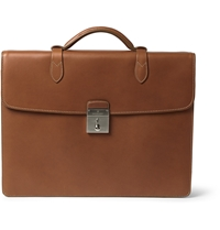 Mulberry Leather Briefcase Brown