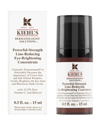 Kiehl's Since 1851 Powerful Strength Line Reducing Eye Brightening Concentrate 0.5 Oz.