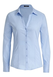 More And More Blouse Blau Blue