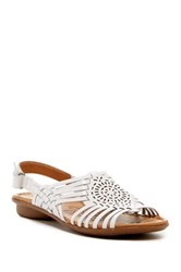 Naturalizer Wendy Huarache Sandal Wide Width Available White