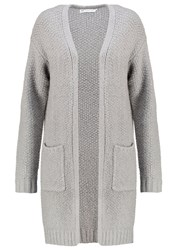 Evenandodd Cardigan Light Grey Melange Mottled Light Grey