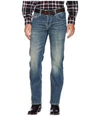 Rock And Roll Cowboy Pistol Straight Leg In Dark Vintage M1p7398 Dark Vintage Jeans Navy