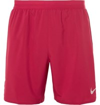 Nike Distance Dri Fit Shorts Red