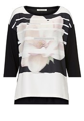 Betty Barclay Embellished Top Black