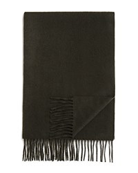 Bloomingdale's The Men's Store At Cashmere Solid Scarf Olive