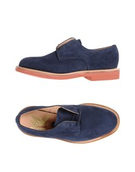 Mark Mcnairy Lace Up Shoes Dark Blue
