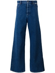 Y Project High Rise Bootcut Jeans Blue