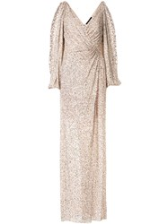 Jenny Packham Ida Sequin Embroidered Evening Dress 60